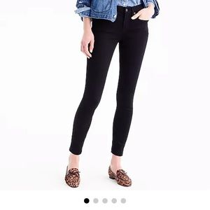 EUC toothpick black jeans